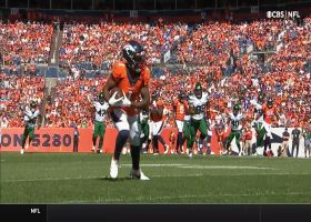 Teddy B locates wide-open Hamler for 28-yard pickup
