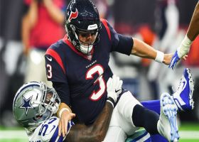 Dorance Armstrong outmuscles lineman to sack Brandon Weeden