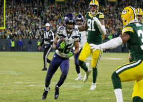 Seahawks cook up play-action pass to Lockett for key fourth-down pickup