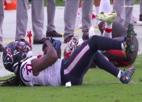 Jahleel Addae jumps Jameis Winston's throw for Texans' FOURTH INT