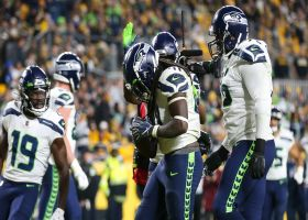 Seahawks reward Alex Collins for dominant drive with TD plunge