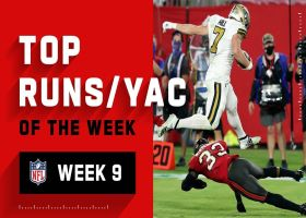 Top runs and YAC of the week | Week 9