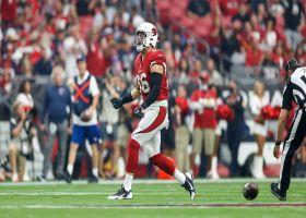 Zach Ertz's first Cardinals catch is a one-handed wonder