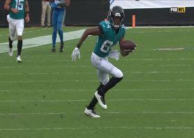 Minshew improvises to find Cole open for huge 51-yard pickup
