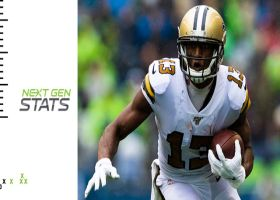 Next Gen Stats: Top NFL wide receivers by route