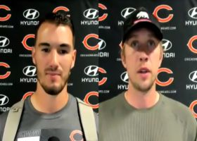 Trubisky, Foles react to Bears' in-game quarterback change