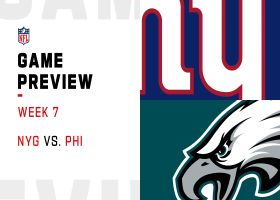 Giants vs. Eagles preview | Week 7