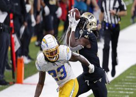 Can't-Miss Play: Lights, Kamara, action! RB amazes with juggling sideline grab