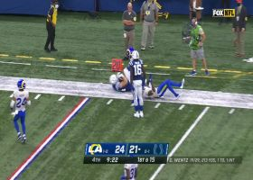 Jack Doyle finds space in Rams' secondary for 34-yard catch and run