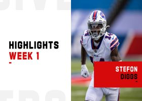 Every catch from Stefon Diggs' Bills debut | Week 1
