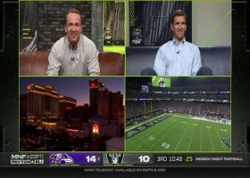 Travis Kelce joins Peyton, Eli Manning on 'MNF' broadcast