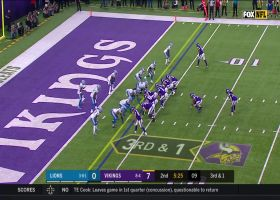 Lions deny Vikings near goal line on third-and-1