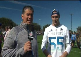 Leighton Vander Esch reacts to first Pro Bowl experiences
