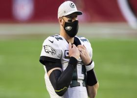 Michael Robinson: Looks like Carson Wentz is 'trying to step out' of Philly