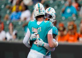 Reid Sinnett's best passes from 343-yard game | Preseason Week 3