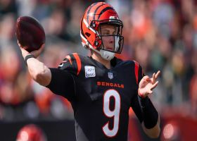Joe Burrow extends Bengals' drive with fourth-down pass to Perine