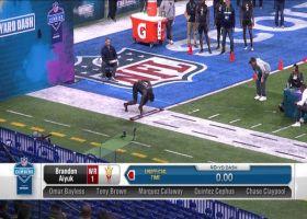 Brandon Aiyuk's 2020 NFL Scouting Combine workout