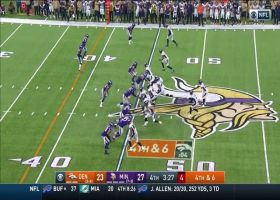 Brandon Allen tosses clutch fourth-down completion to Fant