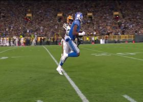 Stafford's wife rejoices after 58-yard BOMB to Marvin Hall