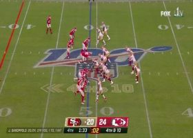 Frank Clark corrals Jimmy G for CLUTCH fourth-down sack