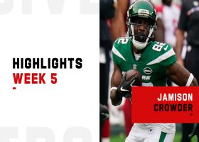 Every Jamison Crowder catch from 116-yard game | Week 5