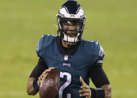 McGinest, Thomas, Frelund: Eagles should name Hurts QB1 sooner rather than later