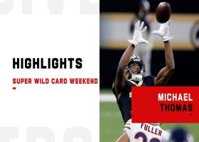 Every Michael Thomas catch from his return to action | Super Wild Card Weekend