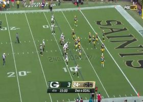 6-foot-4 Juwan Johnson uses all of his frame to snag second TD