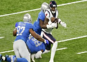 Lions ensnare Deshaun Watson for early third-down sack
