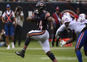 Khalil Herbert treats tacklers like turnstiles on 13-yard TD
