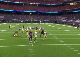 Buddy Howell's speedy punt block sets Texans up at Packers' 33-yard line