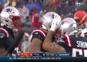 Pats pick off Baker Mayfield's jet pass for ANOTHER first-quarter turnover