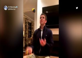 Must See: Eli Manning showcases juggling skills on social media