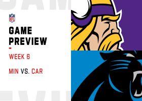Vikings vs. Panthers preview | Week 6