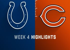 Colts vs. Bears highlights | Week 4