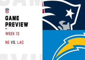 Patriots vs. Chargers preview | Week 13
