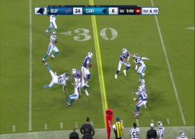 Tyree Jackson shows off his wheels on 20-yard scramble