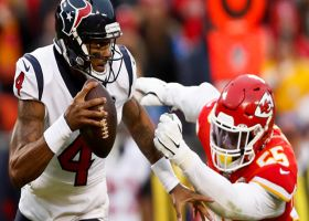 Clark closes door on Texans' comeback hopes with fourth-down sack