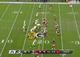 Arik Armstead loops around edge for huge sack