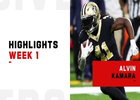 Every big play by Alvin Kamara's 2-TD game | Week 1