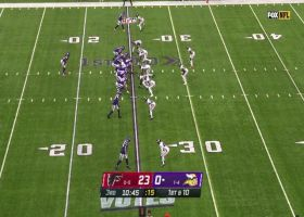Cousins perfectly places rainbow in bucket to Jefferson for 35 yards