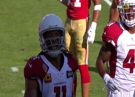 Larry Fitzgerald finds soft spot in Niners' D for wide-open TD