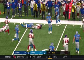 Jackrabbit steps in front of Stafford pass for pick