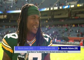 Davante Adams: 'No debating' who the best WR in NFL is