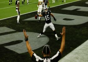 Raiders' first Allegiant Stadium score is Ingold! FB catches walk-in TD