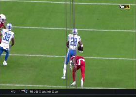 Stop, spin and sprint! Vintage AP shows up on impressive 27-yard burst