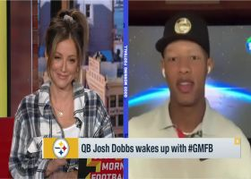 Josh Dobbs discusses what it's like learning from Ben Roethlisberger