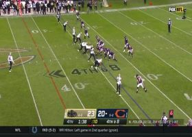Nick Foles locates Anthony Miller underneath for clutch fourth-down pickup
