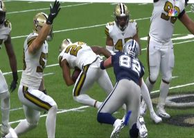 A.J. Klein forces Jason Witten fumble, Vonn Bell recovers