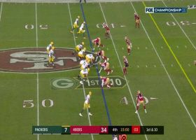 Aaron Rodgers uncorks 43-yard strike to Jimmy Graham up the seam